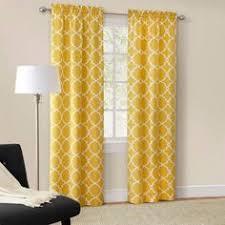 Walmart Mainstays Curtains Mainstays Calix Fashion Window Curtain Set Of 2 Walmart Com