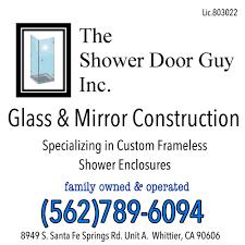 Custom Line Shower Doors by Custom Frameless Splash Panel And Inline Pivot Door Panel With 3 8