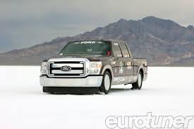 Ford F250 Concept Truck - ford f 250 super duty breaks two land speed records diesel truck