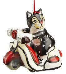vespa cat ornament how about an scooter