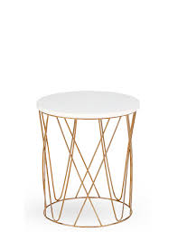 Marks And Spencer Console Table Lena Copper Side Table M U0026s