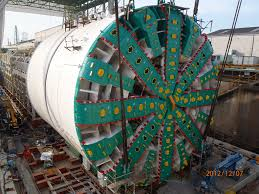 big bertha world u0027s largest tunnel boring machine arrives in