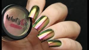 magic powder multi chrome nails no gel or uv lamp needed youtube