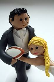 custom rugby wedding cake topper cakes cake toppers and rugby