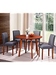 round table sierra college kitchen dining room tables amazon com