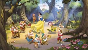 snow white and the seven dwarfs xl wallpaper mural 10 5 x 6 snow white and the seven dwarfs xl wallpaper mural 10 5 x 6 wall sticker shop