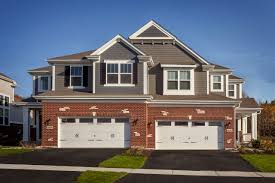 duplex plans with garage in middle herrick woods townhomes for sale in warrenville il m i homes