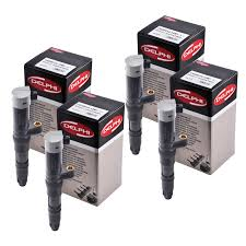4 x genuine oe delphi renault clio modus kangoo ignition coil