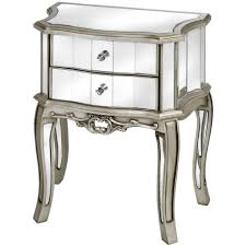 Target Gold Side Table by Furniture Wonderful Mirrored Nightstand Target With Elegant