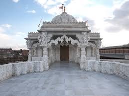 Hindu Temple Floor Plan by Baps Shri Swaminarayan Mandir London