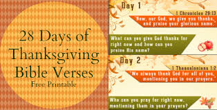 free 28 days of thanksgiving bible verses printable