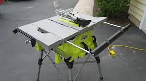 ryobi table saw blade size ryobi rts21g ryobi table saw review tools in action power tool