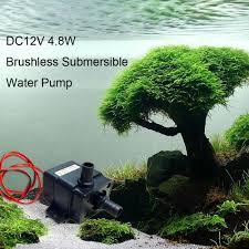 amazon com anself dc12v 4 8w mini brushless submersible water