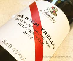 d u0027arenberg the high trellis cabernet sauvignon 2013 winemusing