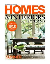 scottish homes and interiors callum walker featured in the press bespoke interior design perth