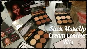 review new sleek makeup cream contour kits with demo youtube