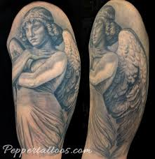 unify tattoo company tattoos realistic monteverde angel