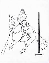 coloring rodeo coloring pages