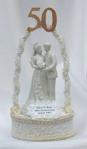50th wedding anniversary cake topper anniversary wedding cake toppers tops