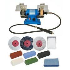 Bench Buffing Machine Bench Polisher Ebay