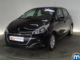 peugeot 109 for sale used or nearly new peugeot 208 1 2 puretech 82 active 5dr black