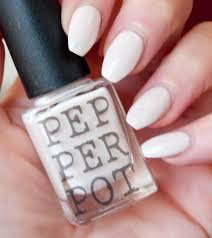 off white pale pink nail polish 5 free nail polish indie handmade