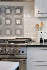 Marble Mosaic Backsplash Tile by Range Accent Tile Backsplash The Accent Tile Above The Cooktop Is