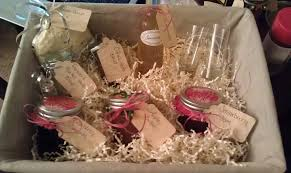 christmas gift basket ideas themed baskets christmas in july the happy