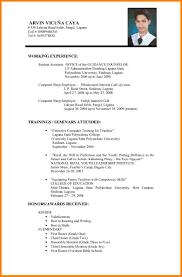 format for resume resume sle doc malaysia resume exles in malaysia resume
