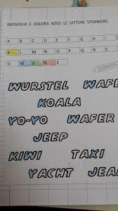 lettere straniere in corsivo maiuscolo e minuscolo lettere straniere maestra carmelina