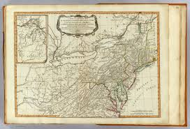 Map Of The Ohio River by 1778 Hutchinson Map Of