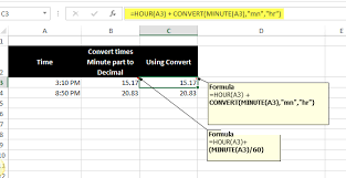 converting time to decimal values microsoft excel tips from