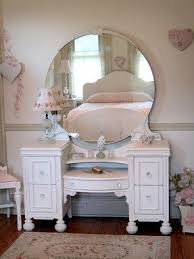 White Vanity Table With Mirror Antique White Vanity Table Foter
