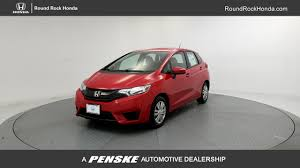 2017 new honda fit lx manual at round rock honda serving austin