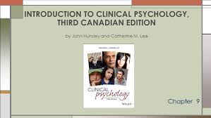 introduction to clinical psychology third canadian edition by