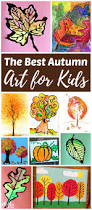 the best fall art projects for kids fall art projects scare
