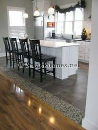 kitchen floor tile design ideas kitchen idea of the day perfectly smooth transition from hardwood