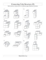 9 best images of connecting cubes worksheet math linking cubes
