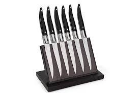 couteau cuisine laguiole bloc 5 couteaux de cuisine laguiole evolution forgé