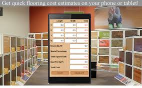 flooring job bid calculator android apps on google play