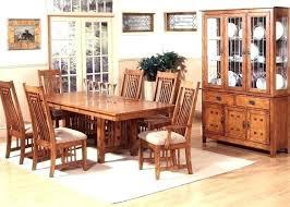 Mission Style Dining Room Mission Style Dining Room Craftsman Style Dining Room Table