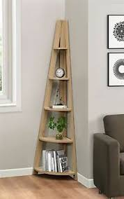 Corner Ladder Bookcase Birlea Nordic Scandinavian Retro Corner Ladder Bookcase Shelving