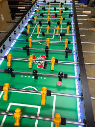 jumbo led foosball table arcade party rental