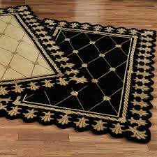 Black And Brown Area Rugs Traditional Rugs Touch Of Class
