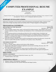10 best photos of computer skills on resume sample computer