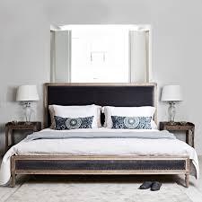 Boston Bed King Size Grey Velvet Brissi - Boston bedroom