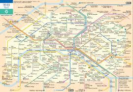 Map Of Paris France Paris Metro Map Paris France U2022 Mappery