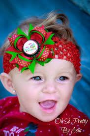newborn hair bows baby christmas hair bows my christmas newborn