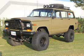 jeep grand wagoneer custom buy used 1984 jeep grand wagoneer 4x4 custom lift and paint in el