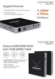 cooleme 32g emmc rom ac 2 4g 5 8g wifi 1000m lan bluetooth 4 0